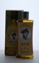 Captain Rum - sprchový gel 250ml